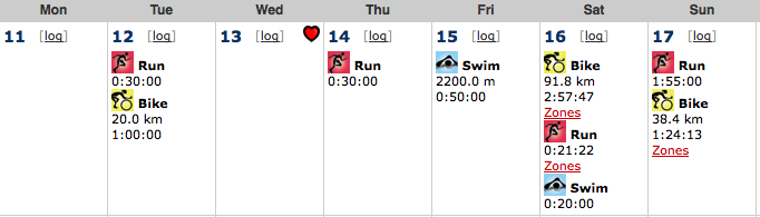 weekly log for May 17th, 2009